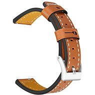 Tactical Colour Leather Strap for Samsung Gear 42mm Brown (EU Blister) - Watch band