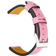 Tactical Colour Leather Strap for Samsung Gear 42mm Pink (EU Blister) - Watch band
