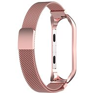 Tactical Loop Magnetic Metal Strap for Xiaomi Mi Band 5/6 Rose Gold - Watch Band