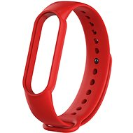 Tactical Silicone Strap for Xiaomi Mi Band 5/6 Red