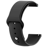 Tactical Silicone Strap for Huawei Watch GT 2e/GT2 46mm Black - Watch band