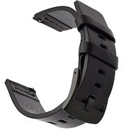 Watch band Tactical Leather Strap for Garmin Vivoactive 3 Black (EU Blister) - Řemínek