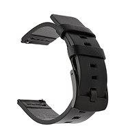 Tactical Leather Strap for Samsung Galaxy Watch Active Black (EU Blister) - Watch band