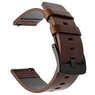Tactical Leather Strap for Samsung Galaxy Watch, Active, Brown (EU Blister) - Watch band