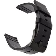 Tactical Leather Strap for Samsung Gear Sport Black (EU Blister) - Watch band