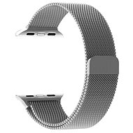 Tactical Loop Magnetic Metal Strap for Apple Watch 1/2/3 38mm Silver - Watch band