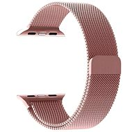 Tactical Loop Magnetic Metal Strap for Apple Watch 1/2/3 42mm Rose Gold - Watch band