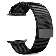 Tactical Loop Magnetic Metal Strap for Apple Watch 4 44mm Black - Watch band