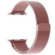 Tactical Loop Magnetic Metal Strap for Apple Watch 4 44mm Rose Gold - Watch band