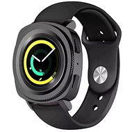 Tactical Silicone Band for Samsung Watch, Gear Sport, Black (EU Blister) - Watch band