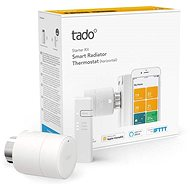 Tado Smart Radiator Thermostat - Starter Kit V3 + with horizontal installation - Thermostat Head