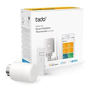 Tado Smart Radiator Thermostat - Starter Kit V3 + with Vertical Installation - Thermostat Head