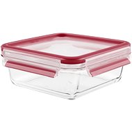 Container Tefal Box 0.9l MASTERSEAL GLASS square glass - Dóza