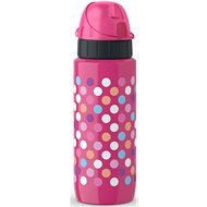 TEFAL DRINK2GO stainless steel. 0.6l pink-dots - Drink bottle