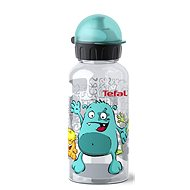 TEFAL KIDS Bottle Tritan 0.4 l Turquoise-Monster - Drinking Bottle