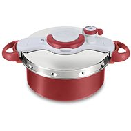 Tefal Clipso Minut Duo Pressure Pot, 5l P4605134 Red - Pressure Cooker