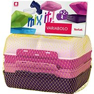 TEFAL VARIOBOLO CLIPBOX 2x coloured boxes - girls - Food Container Set