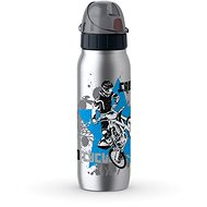 Tefal Vacuum Stainless Steel bottle 0.5l ISO2GO Motocross K3182112 - Drinking Bottle