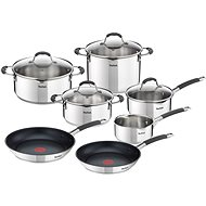 Tefal ILLICO Cookware Set, 11pcs, G701SB74 - Cookware Set