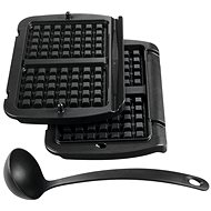 Tefal XA723812 Waffle Plates and Scoop for Optigrill+ - Grill Accessory