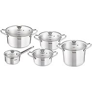 Tefal SIMPLEO Set of Stainless Steel Pots 10pcs