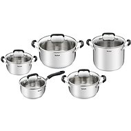 Tefal Cook & Cool Cookware Set, 10pcs, E493SA74
