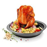 TESCOMA DELÍCIA 33cm Roasting Pan for Chicken with Attachment - Roasting Pan