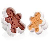 TESCOMA DELÍCIA Cutters with Stamp, 2 pcs, Dolls - Cookie Cutter Set