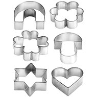TESCOMA DELÍCIA, Cutters on a Ring, 6 pcs - Biscuit Cutters