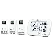 Airbi TRIO - Digital Thermometer and Hygrometer With 3 Wireless Sensors - Weather Station