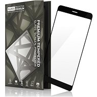 Tempered Glass Protector Frame for Xiaomi RedMi 5 Plus Black - Glass protector