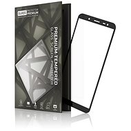 Tempered Glass Protector Frame for SAMSUNG J6 Duos Black