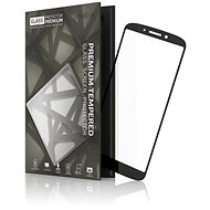 Tempered Glass Protector Frame for Moto G6 Black