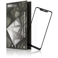 Tempered Glass Protector Frame for Xiaomi Redmi Note 6 Pro, Black - Glass protector