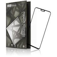 Tempered Glass Protector Frame for Honor 8X / 9X Lite, Black - Glass protector