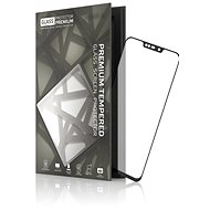 Tempered Glass Protector Frame for ASUS ZenFone Max M2 Black