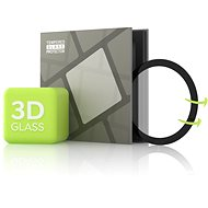 Tempered Glass Protector for Samsung Watch Active - 3D GLASS, Black - Glass protector
