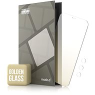 Tempered Glass Mirror Protector for iPhone 12/12 Pro, Gold + Camera Glass