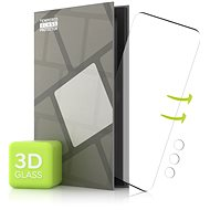 Tempered Glass Protector for Samsung Galaxy S21 Ultra - 3D GLASS, Black + Camera Glass