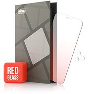 Tempered Glass Protector Mirror for iPhone 12/12 Pro, Red + Glass for Camera