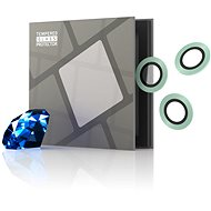 Tempered Glass Protector Sapphire for iPhone 11/12 Series Camera, 0.3 Carat, Green - Glass Protector