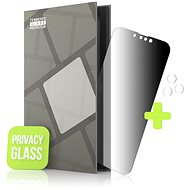 Tempered Glass Protector for iPhone 13 Pro / iPhone 13; 0.3mm, Privacy Glass + Camera Glass