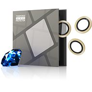 Tempered Glass Protector Sapphire for iPhone 13 mini / iPhone 13 Camera, 0.3 Carat, Gold - Glass Protector