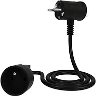 Tinen Extension Cable with Innovative Plug 10m Black - Extension Cord