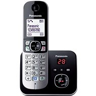 Panasonic KX-TG6821FXB Black Digital Answering Machine - Home Phone