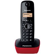 Panasonic KX-TG1611FXR Red - Landline Telephone