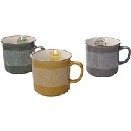 Andrea Fontebasso Set of Cappuccino Mugs 3pcs, 300ml, CONCERTO LE CHICCHERE - Mug