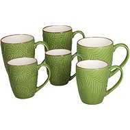Tognana RELIEF EVERGREEN Set of Mugs, 370ml - Mug