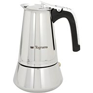 Tognana Coffee Maker 4 Cups RIFLEX INDUCTION - Moka Pot