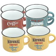 Tognana DES ARTS VINTAGE Set of Coffee Mugs 100ml 6pcs - Coffee Cups